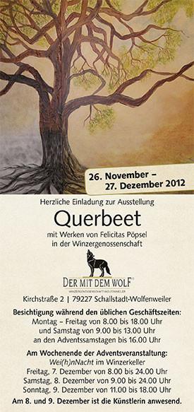 Ausstellung in der Winzergenossenschaft Wolfenweiler