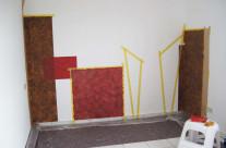 Beispiel Aufbau einer Wandgestaltung